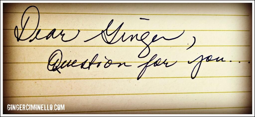 dear ginger